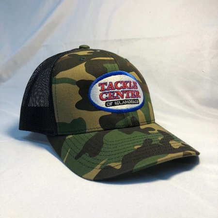 Tackle Center Camo/Black Mesh Hat