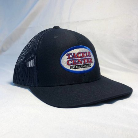 Tackle Center Hat Navy Mesh with Snap
