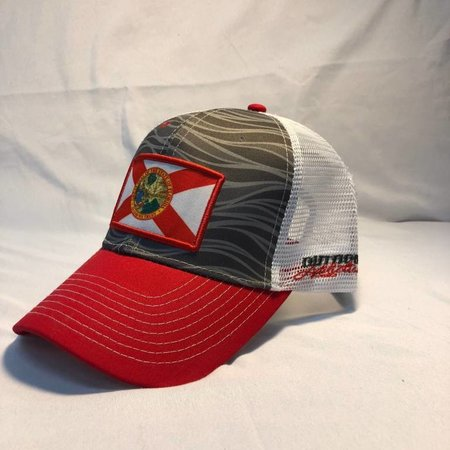 Outdoor Addictions Hat Florida Flag