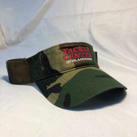 Tackle Center Visor Camo