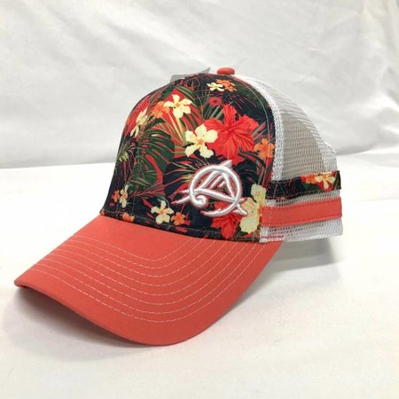 Outdoor Addictions Hat Hibiscus