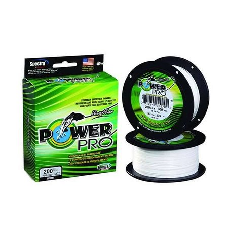 Power Pro 20 lb. X 3000 Yd. White