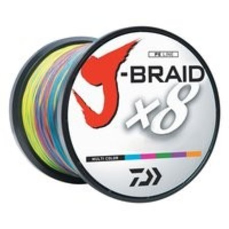 Daiwa J-Braid X8 3300 yds Multicolor