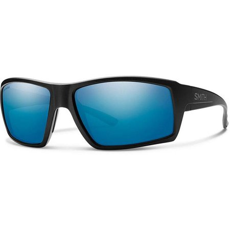 Smith Optics Challis Matte Black CP Blue Mirror Glass