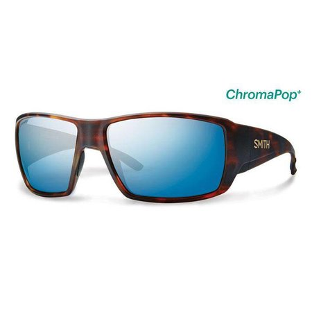 Smith Optics Guide's Choice Matte Havana CP Blue Mirror Glass