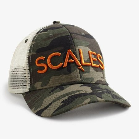 Scales Scales Iconic Trucker Hat Camo