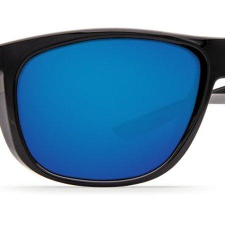 Costa del Mar Kiwa Blue Mirror Glass - W580 Matte Black Frame