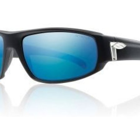 Smith Optics Tenet Matte Black CP Polarized Blue Mirror