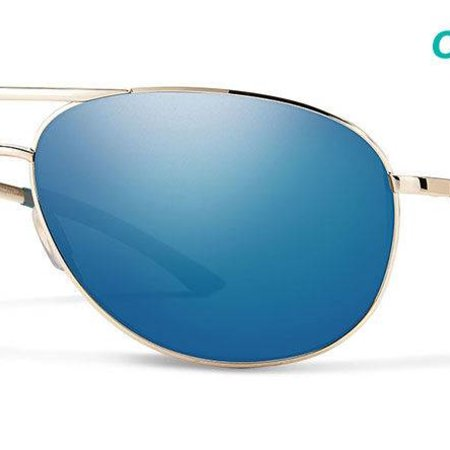 Smith Optics Serpico 2 Slim Gold CP Blue Mirror