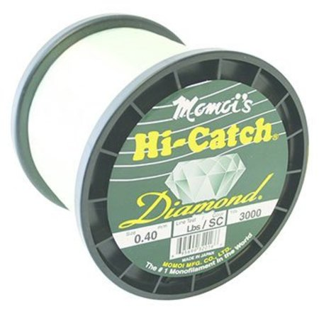 Momoi 32050 Hi-Catch Diamond 50Lb 3000Yds Special Clear Mono