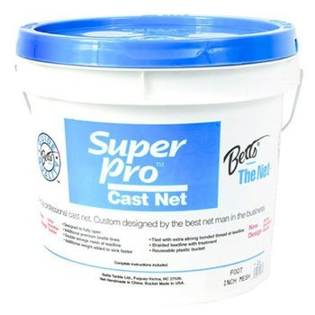 "Betts Bait Cast Net 24-10  1/4"" 10' (PICK UP ONLY)"