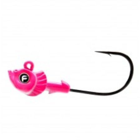 Fathom Offshore Pro-Select Jig Head 3/8oz Pink 4 pack