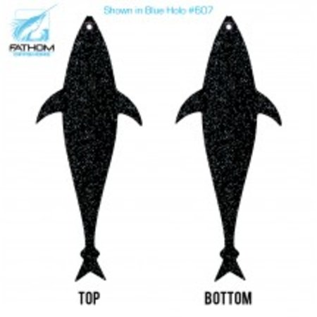 "Fathom Offshore Flap Jack Tuna 14"" Solid Black"