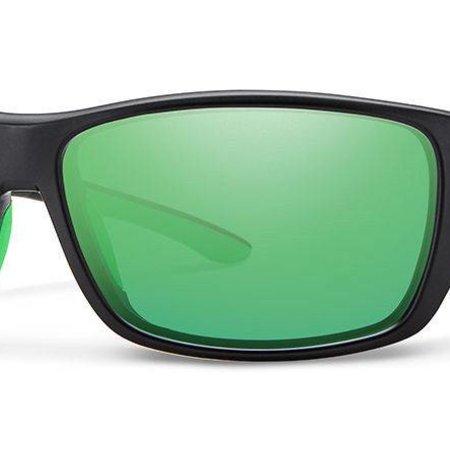 Smith Optics Forge Matte Black Carboinc Green Mirror