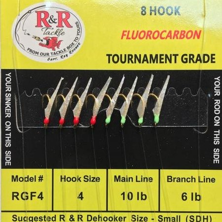 R & R Tackle RGF4 Sabiki
