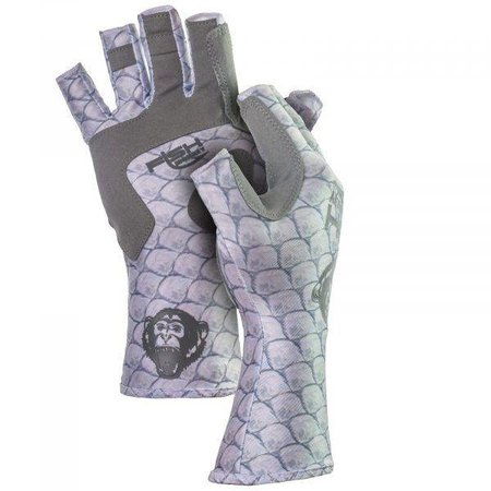 Fish Monkey Gloves Half Finger Guide Glove Tarpon