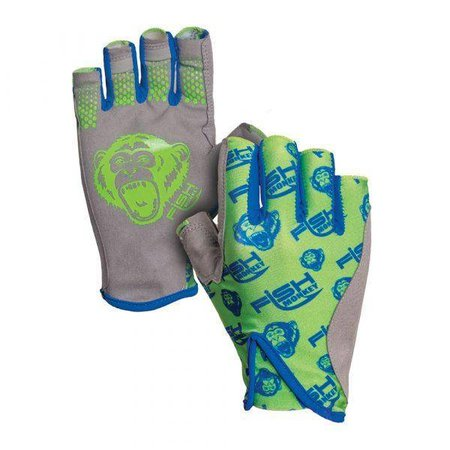 Fish Monkey Gloves Pro 365 Guide Glove Neon Green