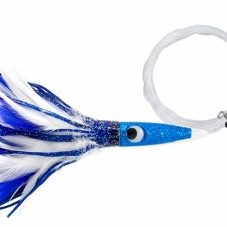 C&H Wahoo Feather BL/ White