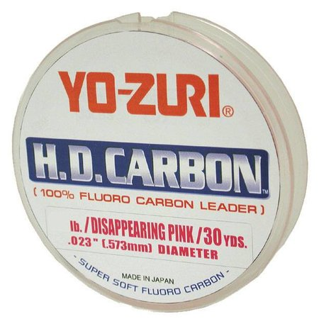 Yo-Zuri 50 lb. Pink 100 yd. Fluorocarbon Leader