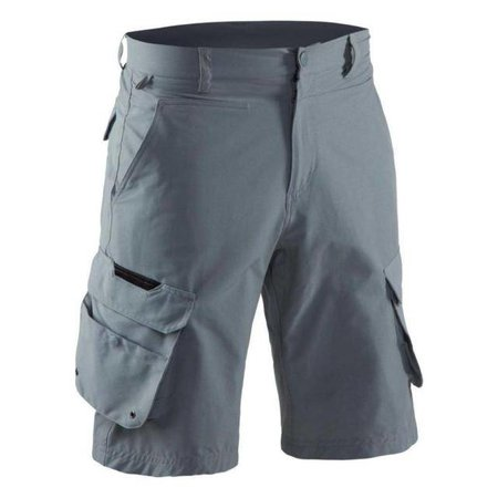 Grundens Breakwater Shorts Monument Grey