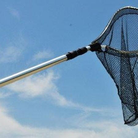"Lee Fisher Shrimp Net 20""x20""  18' Handle"
