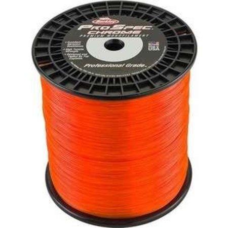 Berkley Mono Line 12Lb Chrome 4700yd Blaze Orange
