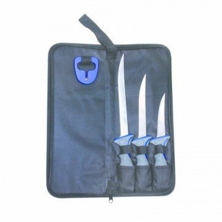"Sea Striker Fillet Knife Kit 4"" 6"" 8"" Fillet Knives SSFKK468"