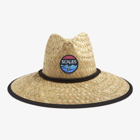 Scales Shaded Straw Hat