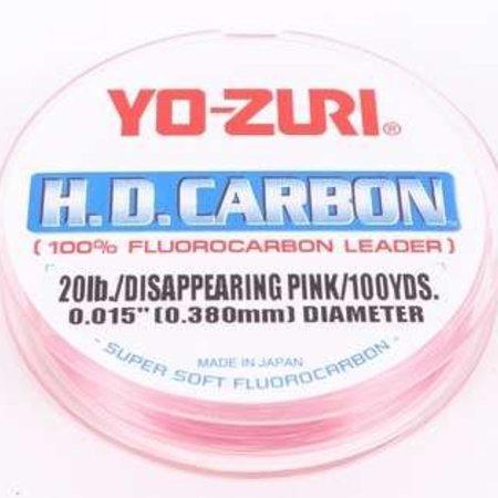 Yo-Zuri 20lb Fluorocarbon 100yd Pink