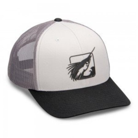 Fathom Offshore Sonic Logo Truckers Hat Grey