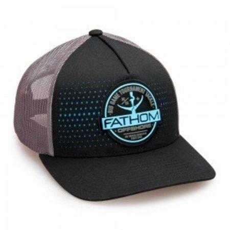 Fathom Offshore Channel Cap Black