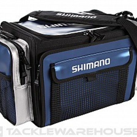 Shimano Borona Tackle Bag, Medium, Navy
