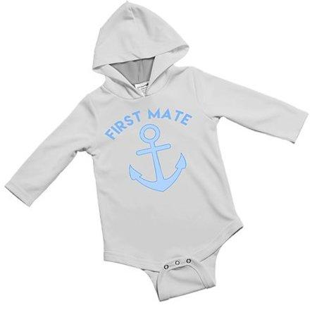 Jessie Jessup Jessie Jessup Baby Onesie 6-9 Months First Mate Blue