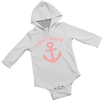 Jessie Jessup Baby Onesie 9-12 Months First Mate Pink