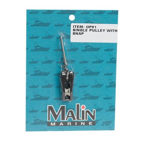 Malin Single Outrigger Pulley