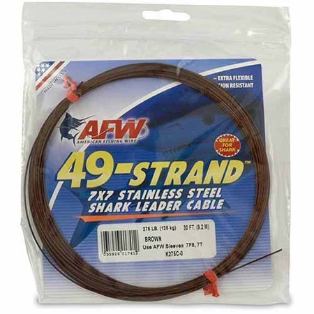 Shimano 49-Strand Stainless Shark Leader Cable