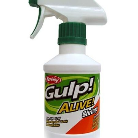 Berkley GSP8-SHP Gulp Alive Spray 8oz Shrimp