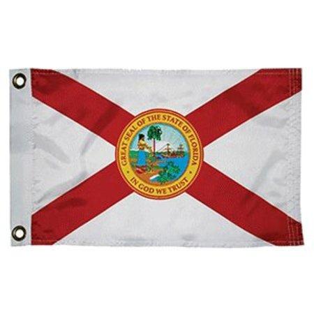 "Taylor Made Florida Flag 12""x18"""