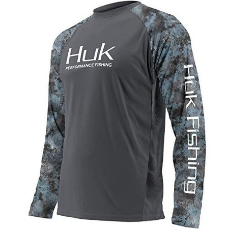 Huk Youth Double Header Grey/Blue