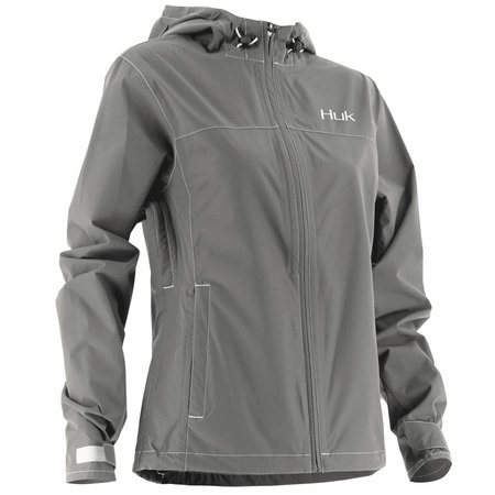 Huk Women's Packable Jacket Iron