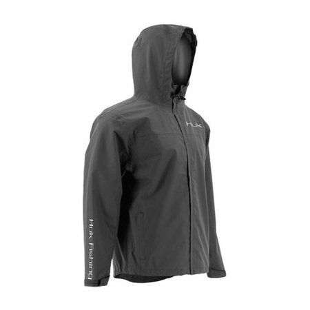 Huk Men's Packable Jacket Iron