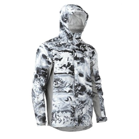 Huk CYA Packable Jacket Gray Camo