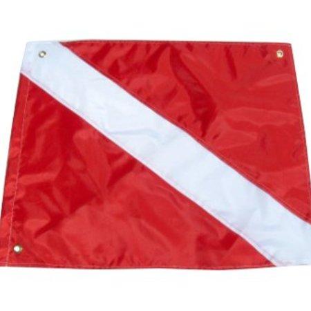 """Bandito 2381 Dive Flag/Diver Down w/Stiffener 20""""x 24"""