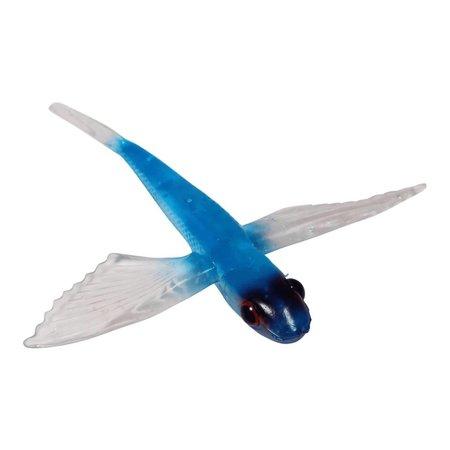 """Boone Bait Flying Bird Unrigged 8"""" Blue 55630"""