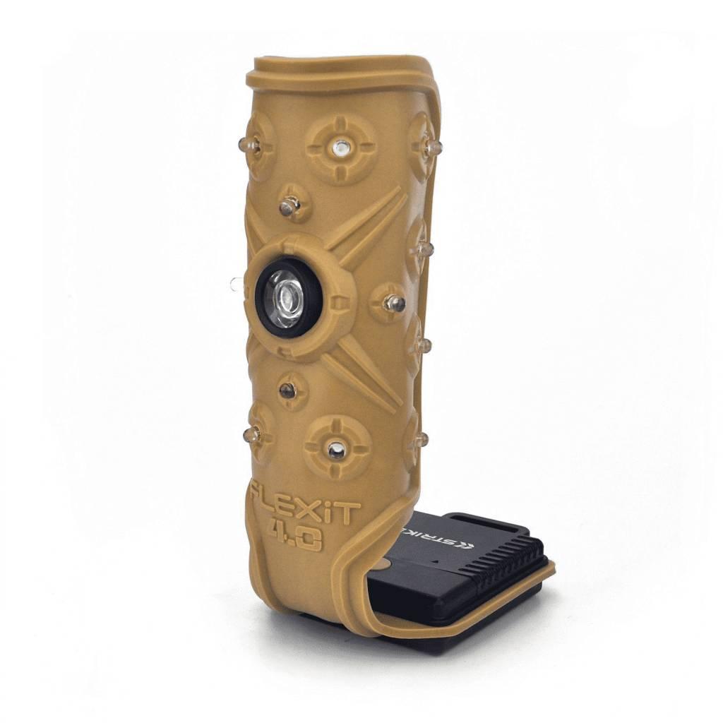 Striker 00345 FLEXiT 4.0 Flexible Flashlight, 5 light settings, 400 Lumens