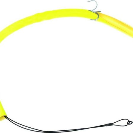Sea Striker CT14Y Cuda Tube Rig Deluxe Flourescent Yellow 2 Hook 1Pk