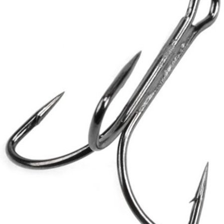 Mustad 3551-DT-14/0 Duratin Trbl #14/0 Alligator Hook