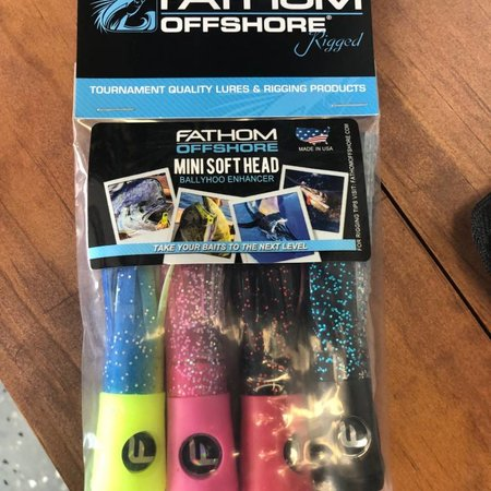 Fathom Offshore Mini Soft Head Chugger 4pk