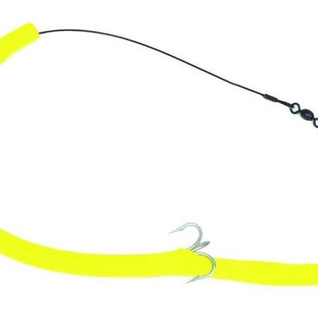 Sea Striker CT12Y Cuda Tube Rig Flourescent Yellow 1 Hook 1Pk