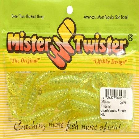 """Mister Twister 4"""" Chrt/Sil Flak"""